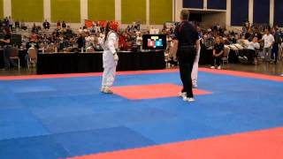 Anna Ubando vs Yasmin Brown @USAT National Championship SJ 2k11