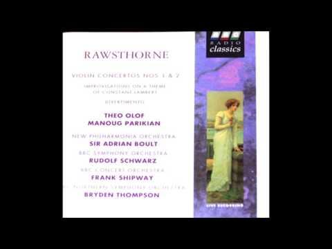 Rawsthorne  Violin Concerto No 1