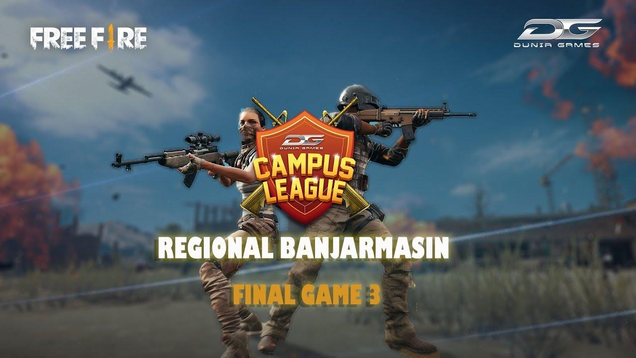 Dunia Games Campus League 2018 Free Fire Regional