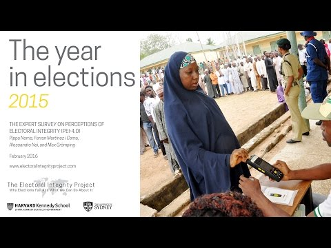 'The Year in Elections, 2015' - Slideshow with audio
