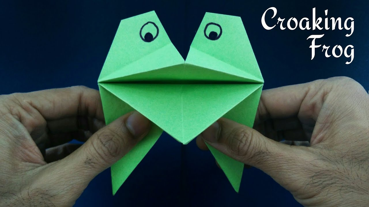 Croaking Puppet Frog