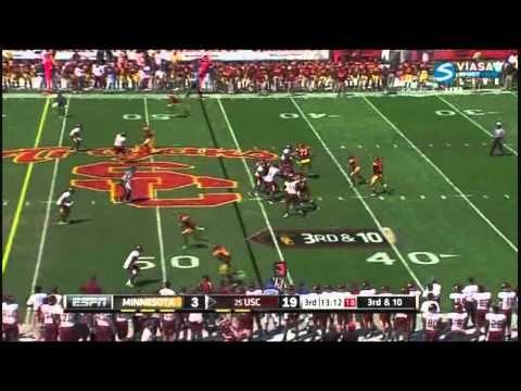 Matt Barkley vs Minnesota 2011