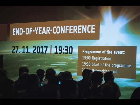 ESA BIC Prague: END-OF-YEAR-CONFERENCE 2017