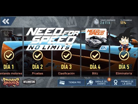 Need For Speed No Limits Android McLaren F1 LM Dia 5 Eliminatoria