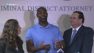 Exonerated Texas man free after being wrongly-convicted of murder