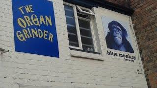 Blue Monkey Brewery - (Chocolate Orange) Guerrilla (Stout) 5% (Organ Grinder, Nottingham)