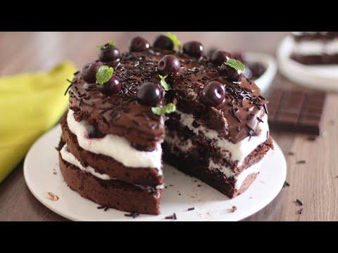 gâteau-façon-forêt-noire-sans-beurre-sans-crème-!