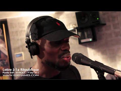 Kery James - Planète Rap - Lettre à République (Radio live)