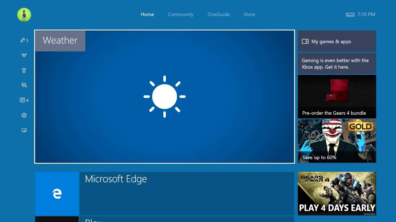 MSN Weather app now available for download from Xbox Store - MSPoweruser