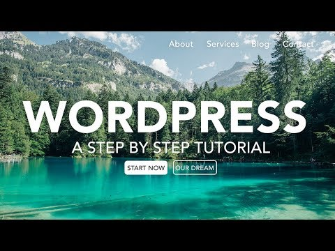 How to Make a Drag & Drop WordPress Website 2018 - Beginners Tutorial!
