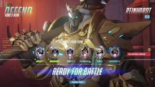 Overwatch Best Reinhardt Player Renbot Playing Sick Games As Reinhardt