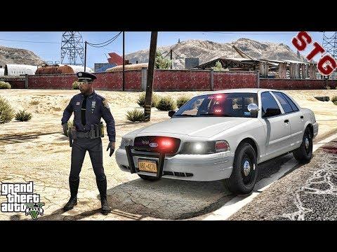 NYPD HIGHWAY PATROL CVPI!!!| #88 (GTA 5 REAL LIFE PC POLICE MOD)