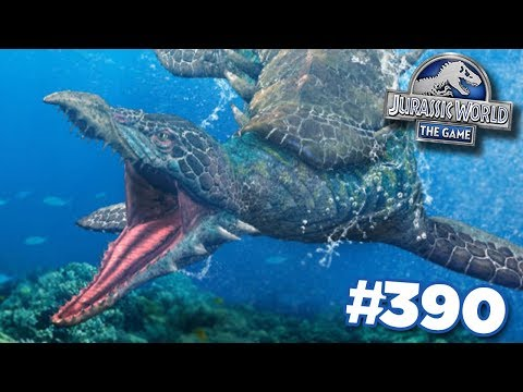 ANOTHER AQUATIC HYBRID!!!   Jurassic World - The Game - Ep390 HD