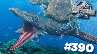 ANOTHER AQUATIC HYBRID!!! | Jurassic World - The Game - Ep390 HD