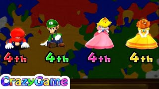 Mario Party 9 - All Crazy Minigames Gameplay