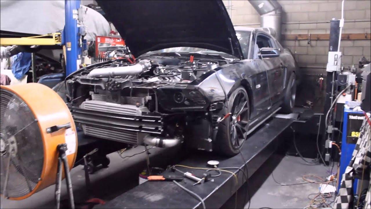 2012 Mustang Turbo Kit