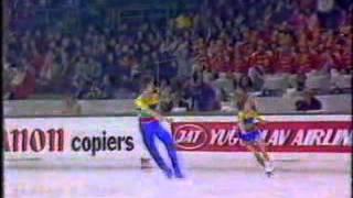 Ekaterina Gordeeva & Sergei Grinkov - 1987 European Championships - SP
