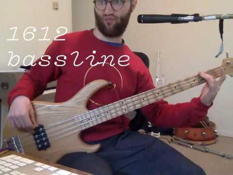 VULFPECK /// 1612 Bass Part