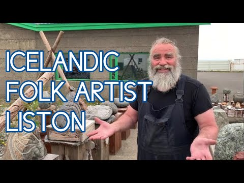 LIFE AND ART IN ICELAND with Folk Artist Lúðvík Karlsson (AKA Liston) | Grundarfjörður | You Tell Me