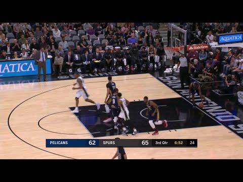 3rd Quarter, One Box Video: San Antonio Spurs vs. New Orleans Pelicans