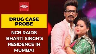 NCB Raids Bharti Singh And Haarsh Limbhachiyaa's House In Drug Case Probe