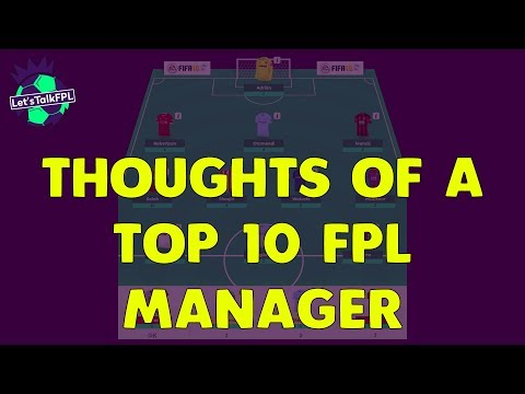 THOUGHTS OF A TOP 10 FPL MANAGER | Gameweek 30 | Let's Talk Fantasy Premier League 2017/18 #92