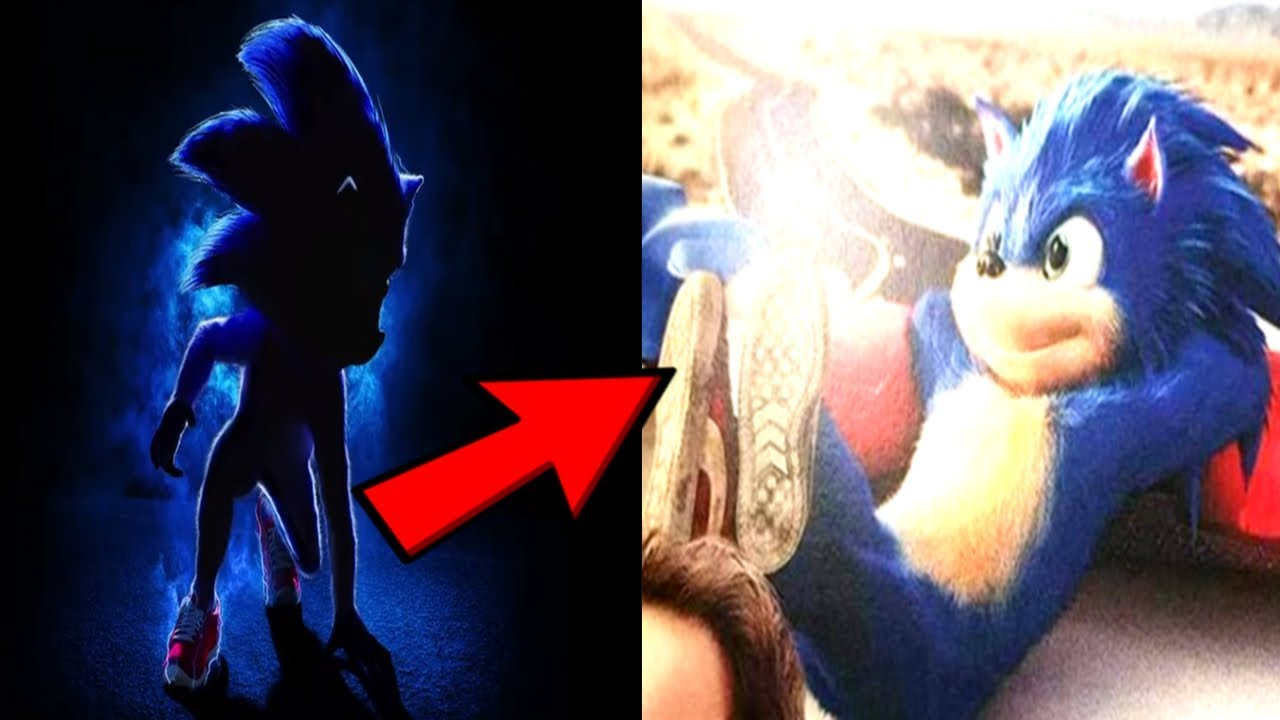 Sonic The Hedgehog Concept Art Poster Look Revealed Youtube