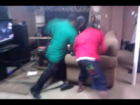 Alley boy fight