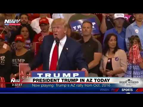 CNN BREAKING NEWS TODAY -  President Trump Visiting Phoenix Today; Kansas City Hit With Major