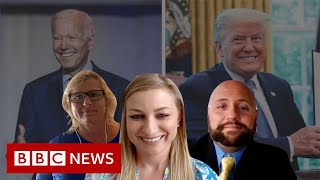 Biden or Trump? Persuading an undecided voter - BBC News