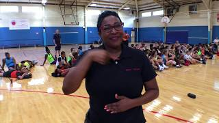Sign1News at Mike Glenn All-Star Basketball Camp for the Deaf and Hard of Hearing