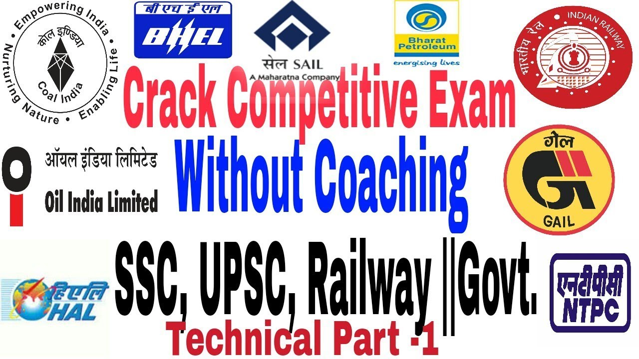 how to crack any competitive exam without coaching