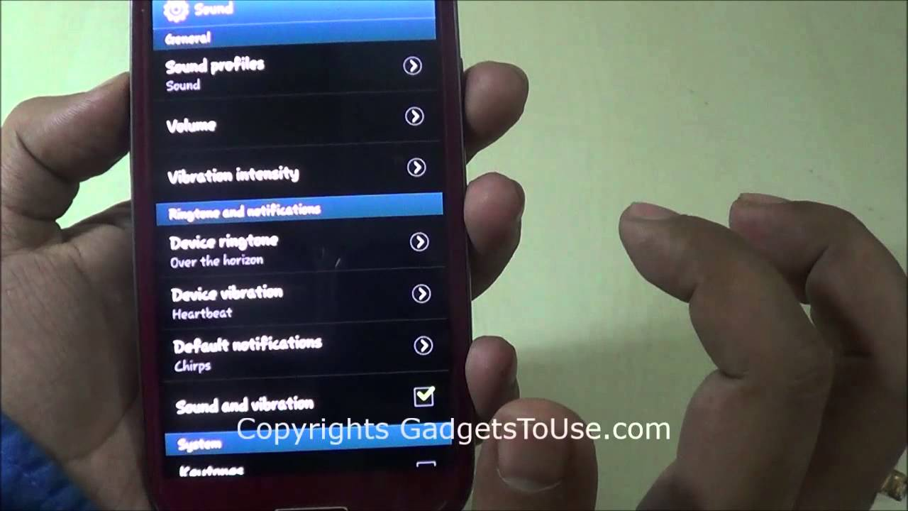 Turn off Haptic Vibration on Samsung Android Phones on Soft Buttons and UI  Interactions