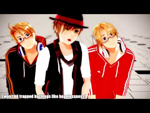 【APヘタリアMMD】OH MY JULIET! English subs
