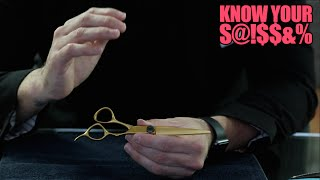 KNOW YOUR SCISSOR EPISODE 6 - What Size Haircutting Scissor Should You Get and MORE
