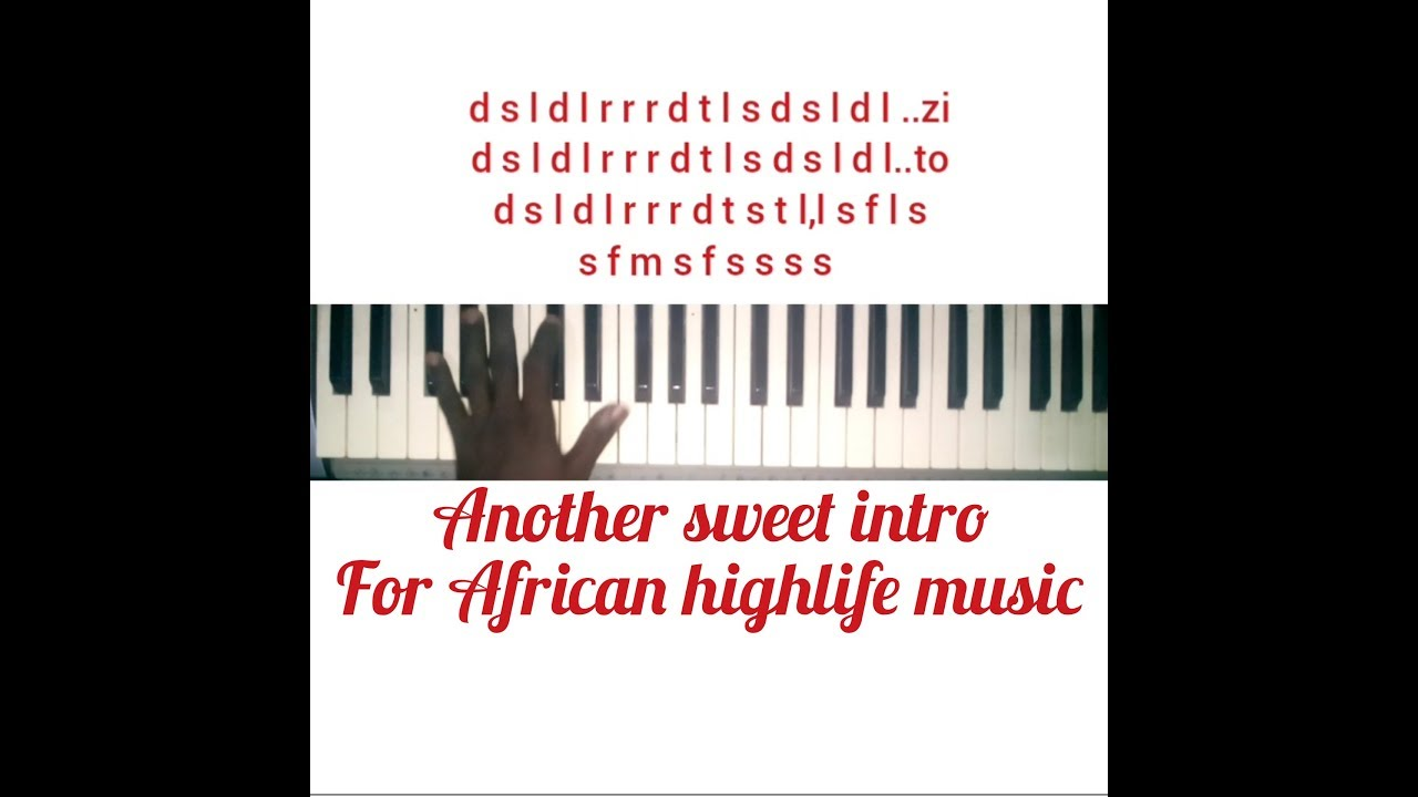 Download Intro for highlife music: part 2. Intro and progression