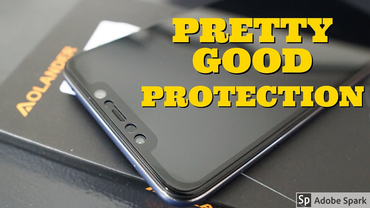 Pocophone F1 Tempered Glass/Screen Protector Install and Review