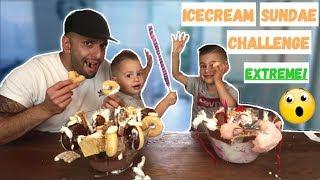 MEGA ICE CREAM SUNDAE CHALLENGE! | LAKAP JUNIOR