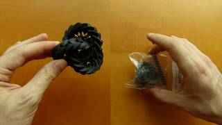 Triple gears made with Shapeways' new HP plastic