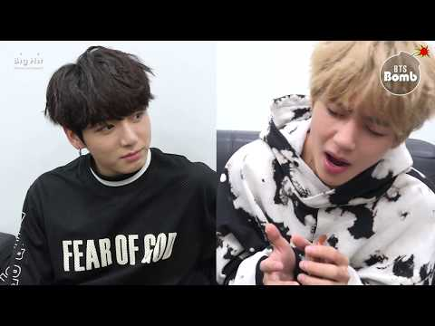 [BANGTAN BOMB] V&Jungkook Singing at standby time - BTS (방탄소년단)