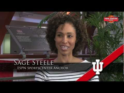 Interview with ESPN Anchor and IU Graduate Sage Steele about Hoosier Basketball