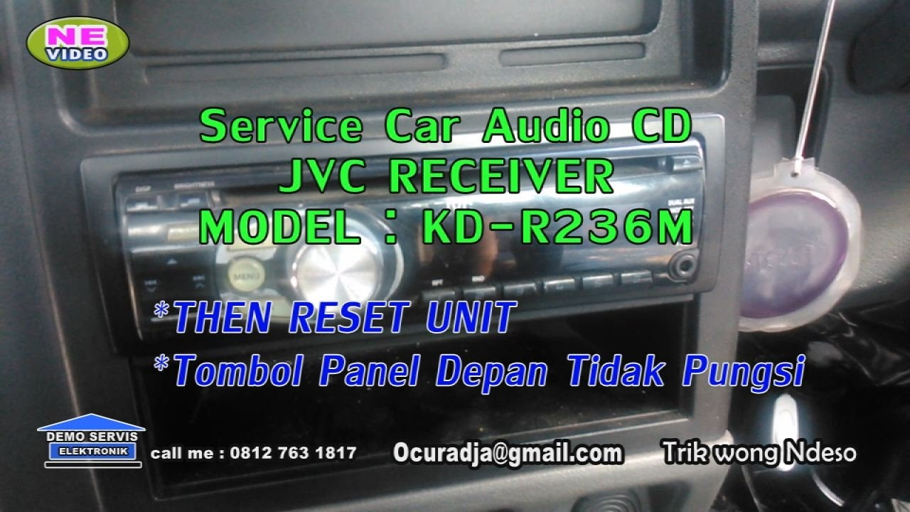 jvc cd receiver kd r 326m unit then reset  [ 1280 x 720 Pixel ]