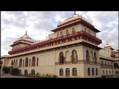 Inside Taj Rambagh Palace, Jaipur, Rajasthan