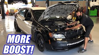 How Much Power Does 2 PSI Of Boost Add? Project 9 Sec Caprice Cop Car Ep.11