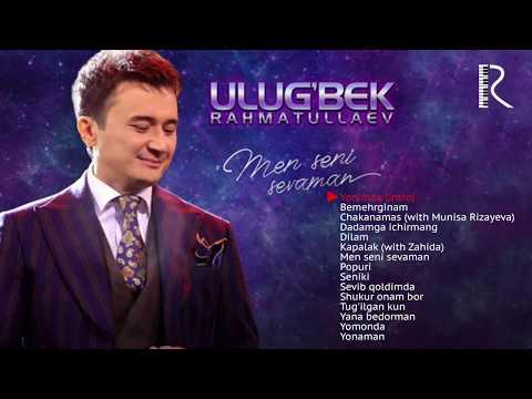 Ulug'bek Rahmatullayev - Men seni sevaman nomli albom dasturi 2019 #UydaQoling
