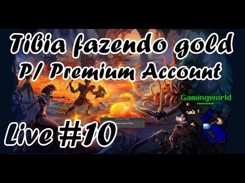 Tibia - Fazendo gold com Kinght Free Account