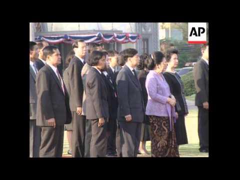 THAILAND: BANGKOK: LEADERS ARRIVE FOR ASEAN SUMMIT