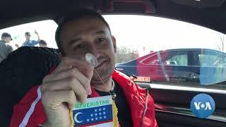 Nyu-Yorkda taksichilar O'zbekistonni targ'ib qilmoqda