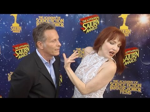Amy Yasbeck 42nd Annual Saturn Awards Red Carpet