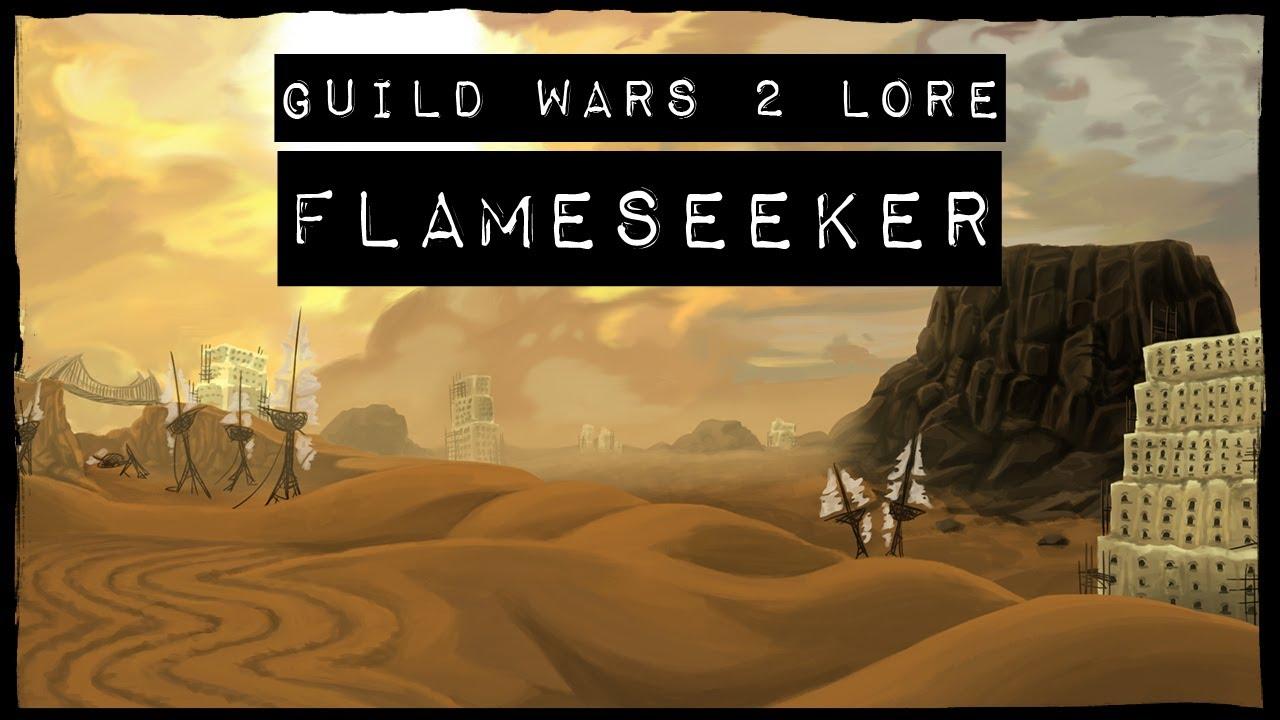 Guild Wars 2 Lore Flameseeker